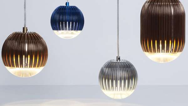 Balloon-Like Aluminum Lamps