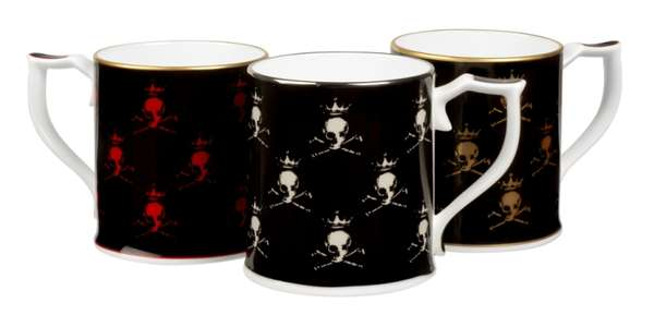 Classy Jolly Roger Cups