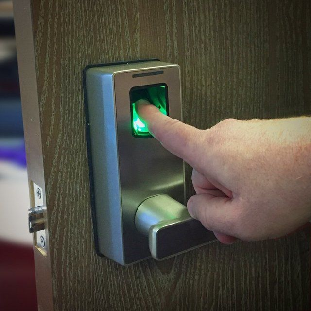 Futuristic Fingerprint Locks Fingerprint Lock