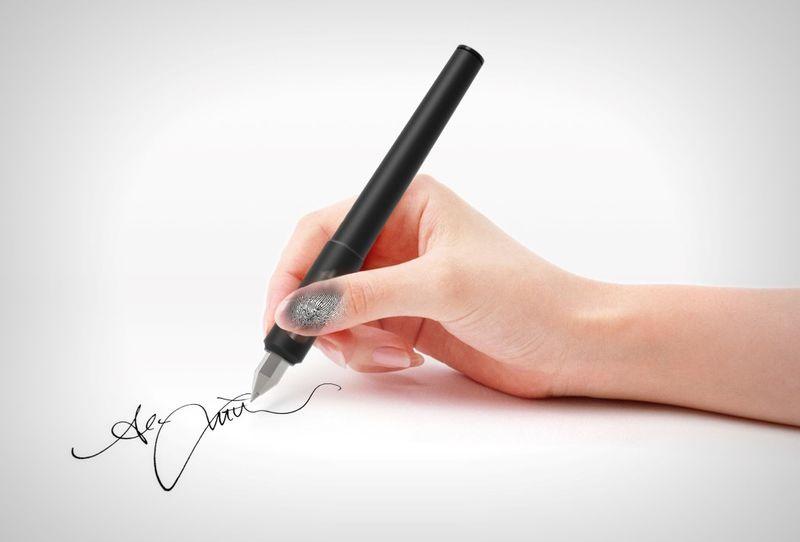 Biometric Security Pens