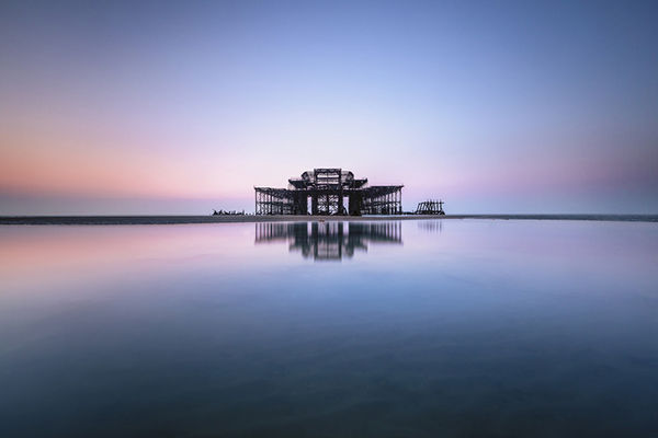 Decaying Pier Photography