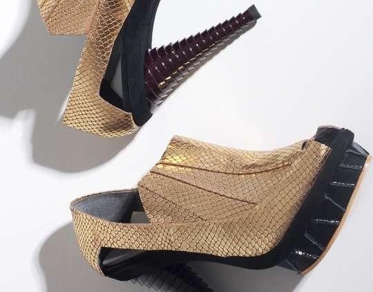 Fish Scale Footwear