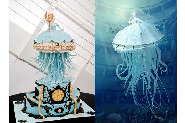 Tentacled Lady Desserts