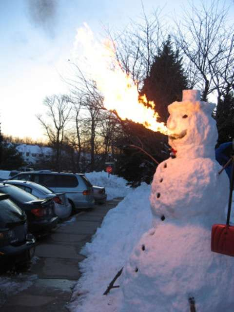 Fire-Breathing Snowmen