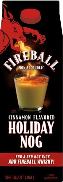 Alcohol-Inspired Cinnamon Eggnogs