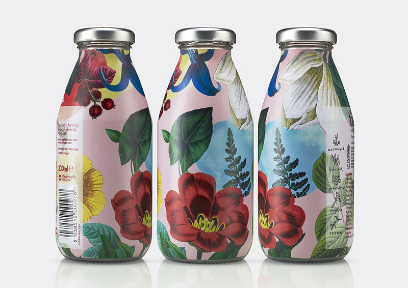 Logo-Free Botanical Juices