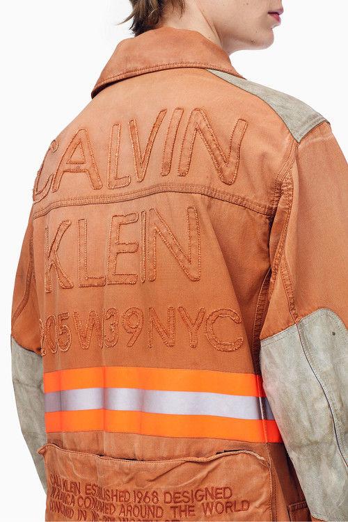 Fireman-Inspired Outerwear