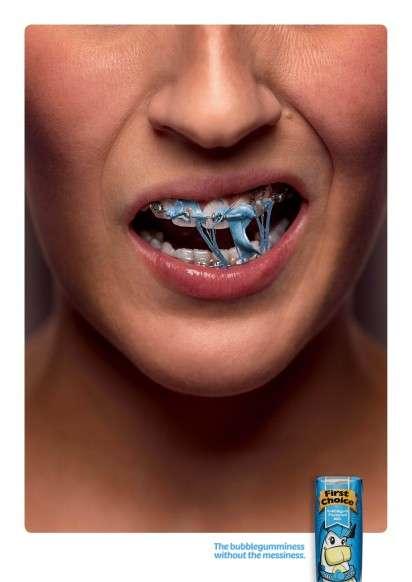 Messy Gum Ads