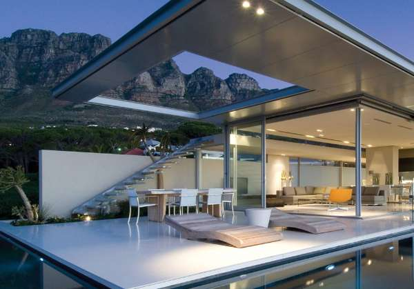 See-Through Seaside Abodes