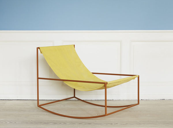 Sling Back Rocking Chairs