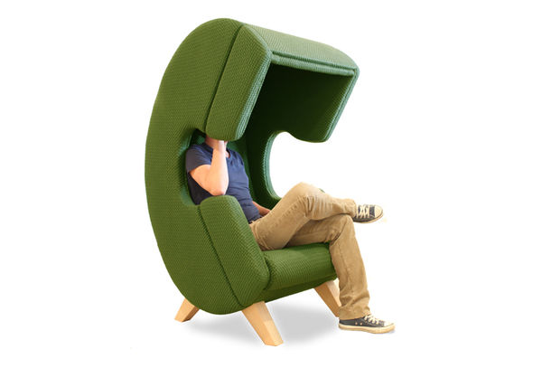Telephone-Shaped Chairs