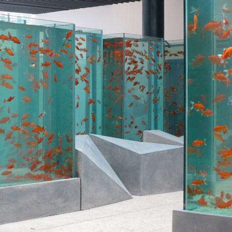 Skyscraper Inspired Aquariums Fish Aquarium