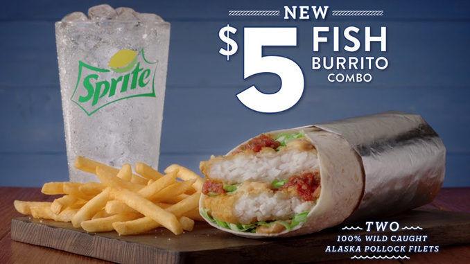Crispy Fish Filet Burritos