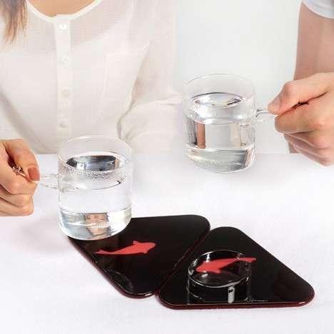 Fishy Mug Coasters