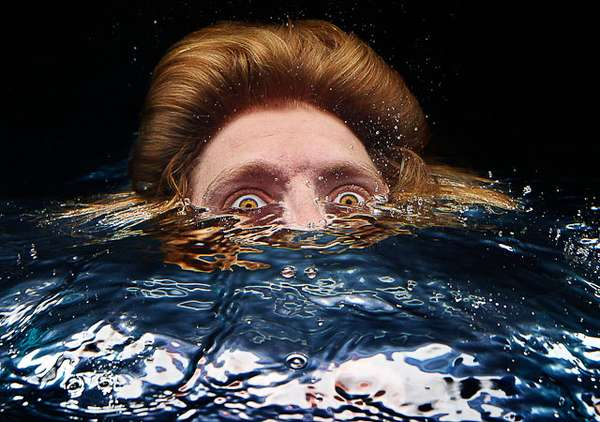 Textured Underwater Portraits