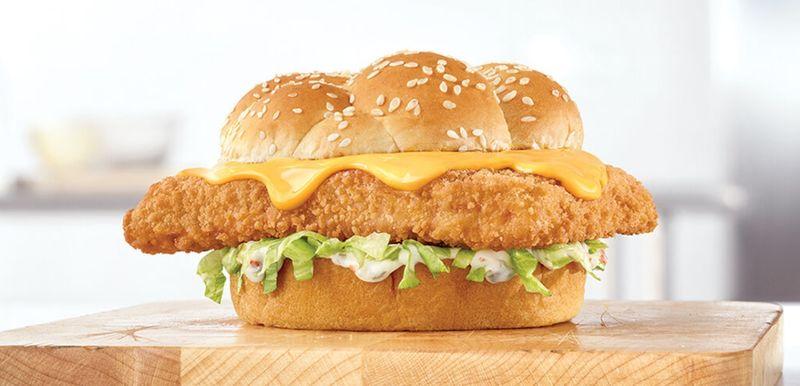 Cheesy Fish Sandwiches
