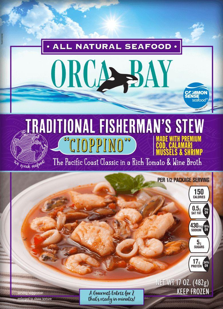 Frozen Seafood Stew Meals