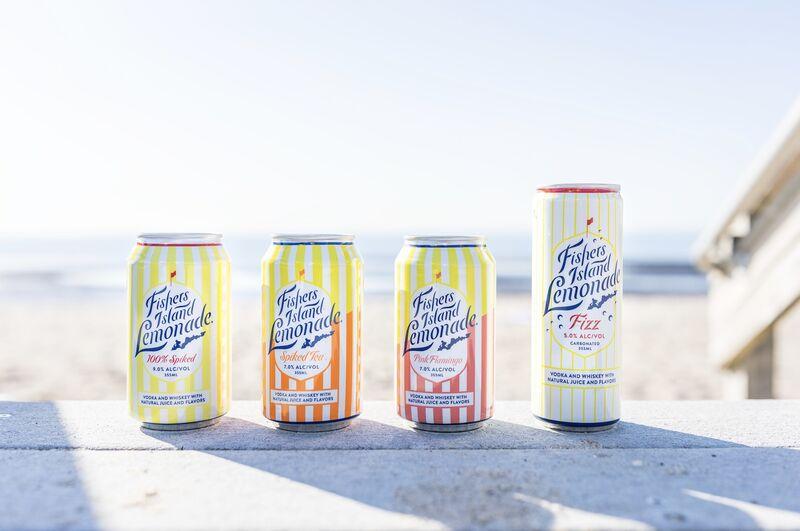 Spiked Lemonade Cocktails