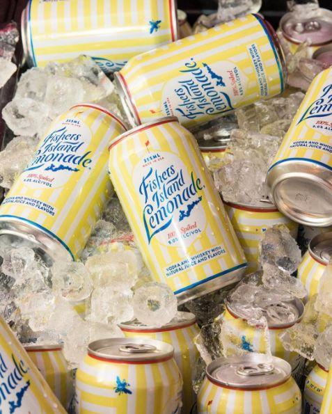 Boozy Canned Lemonades