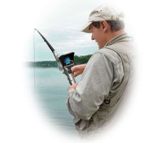 Hidden Camera Fishing Poles