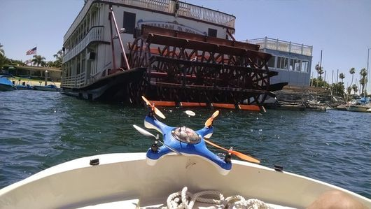 Assistive Fishing Drones