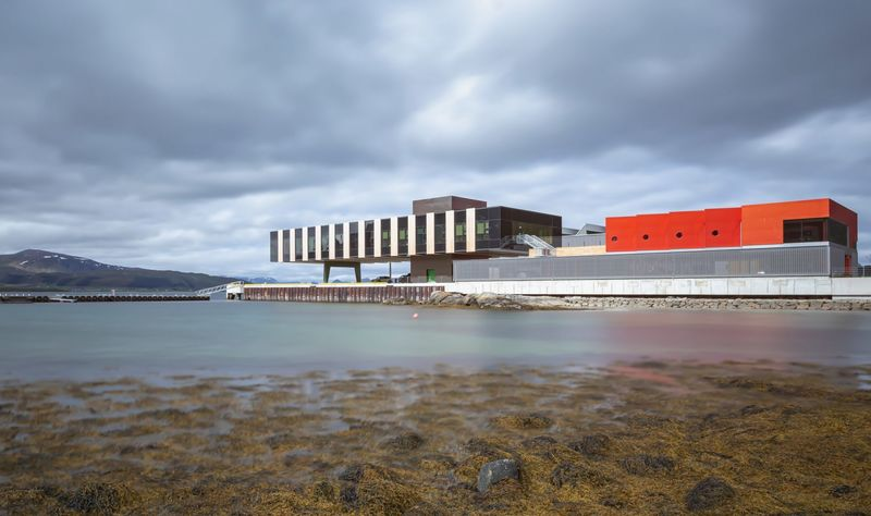 Sophisticated Colourful Fishing Facilities