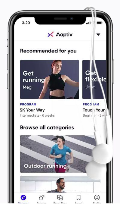 Frequently Updated Fitness Applications
