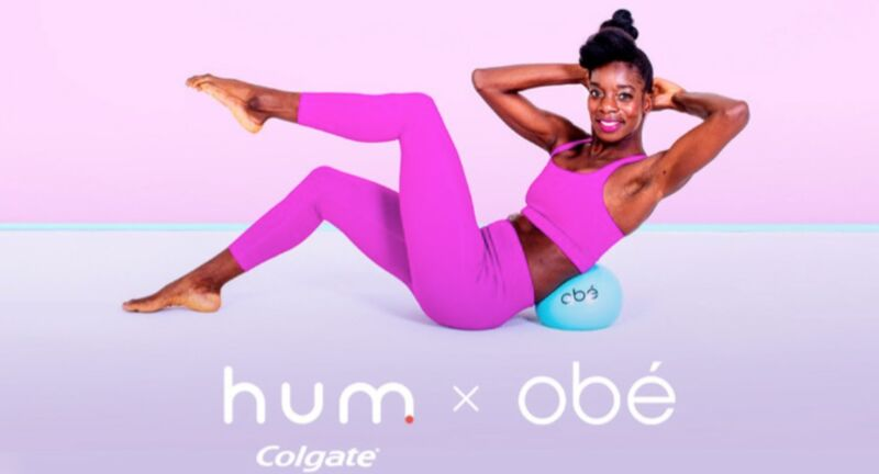 Toothbrush Brand-Backed Fitness Content