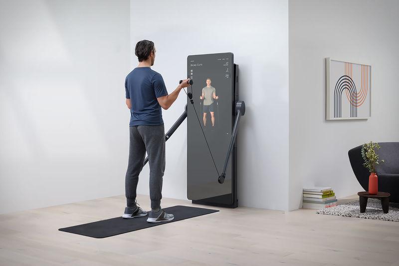 Workout-Enhancing Mirrors