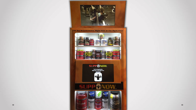Supplement Vending Machines