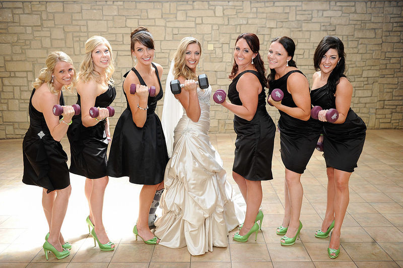 Fitness-Themed Wedding