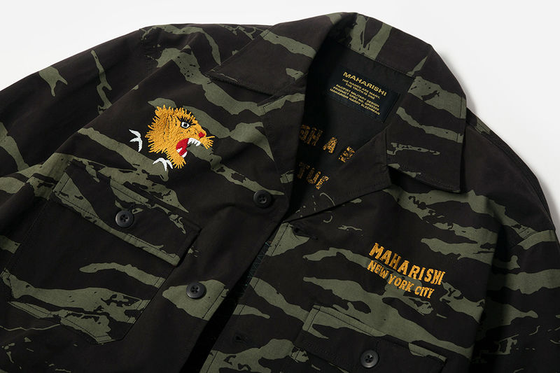 Military Return-Inspired Apparel