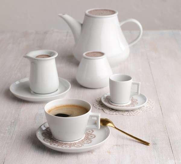 Motley Tea Sets Five Senses Centuries Old Handles Meet