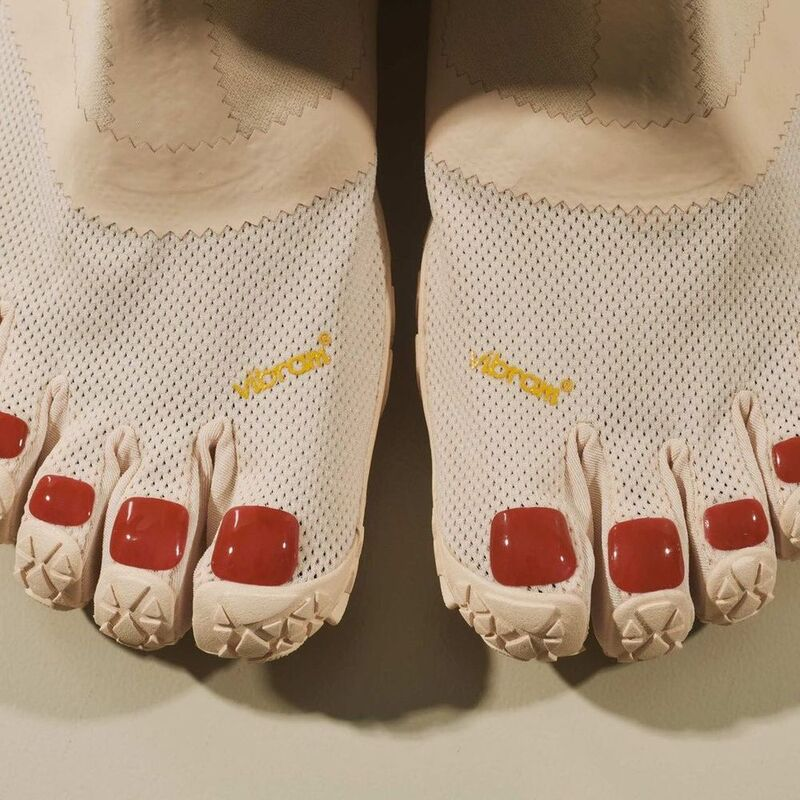 Painted Toe Quirky Shoes