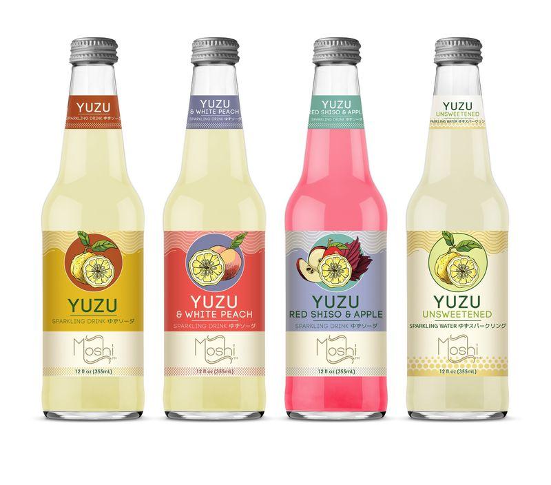 Sparkling Yuzu Drinks