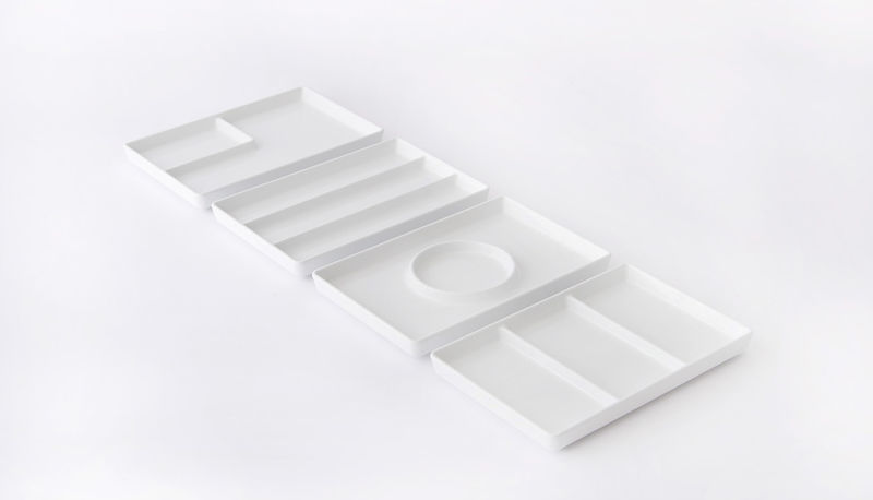 Flag-Shaped Divider Plates