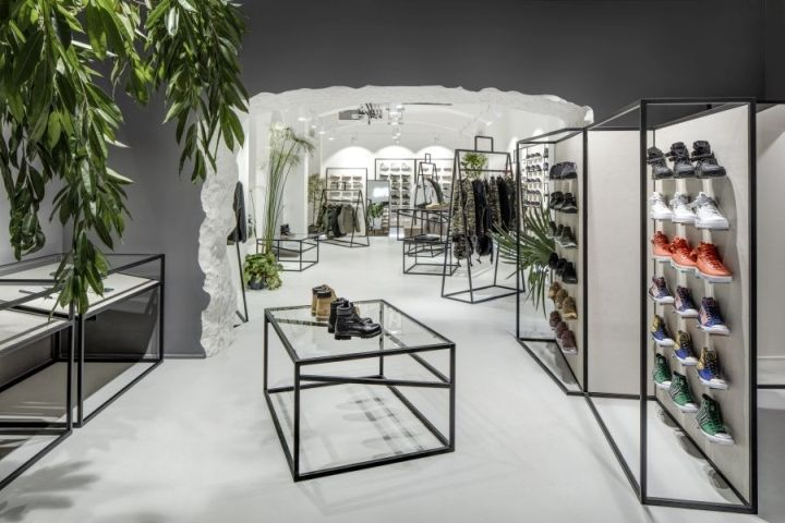 Wireframe Fashion Shops