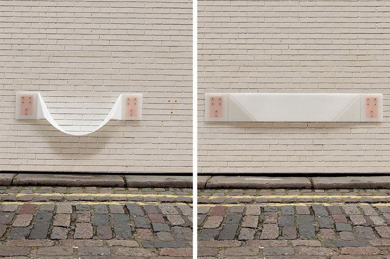 Ultra-Flat Wall-Mounted Chairs
