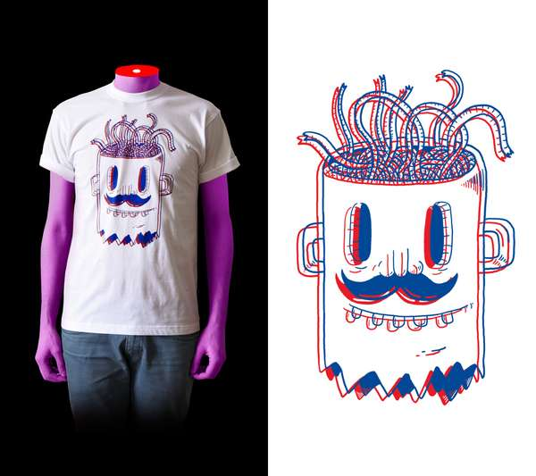 3-D Style T-Shirts