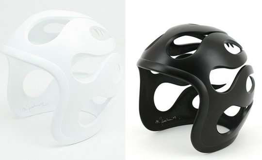Retro Helmet Sculptures