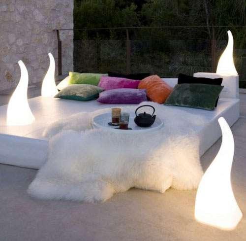 Fantastic Fiery Lighting