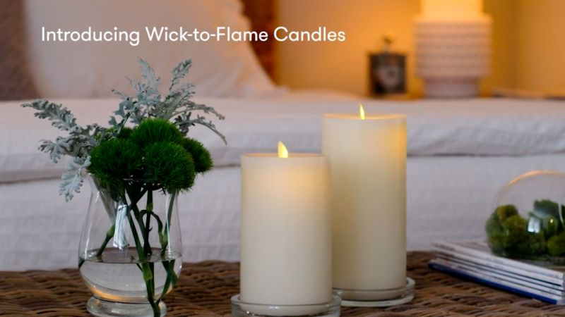 Retractable Flameless Candles
