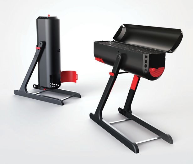Shapeshifting Barbecue Grills