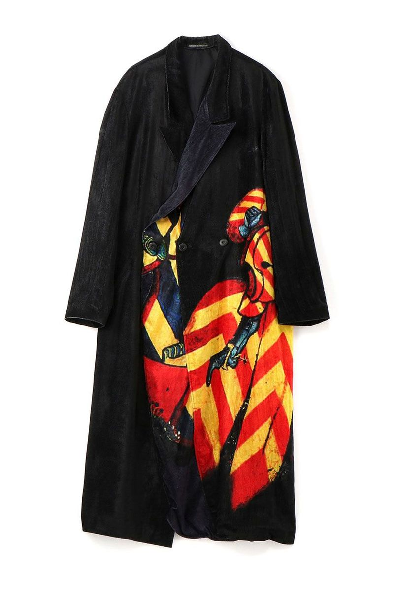Knight-Themed Ankle-Long Coats