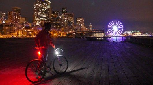 360-Degree Bike Lights