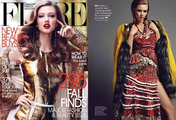 Luxuriously Textured Fashion
