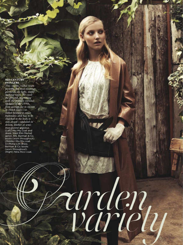 Garden Vixen Editorials