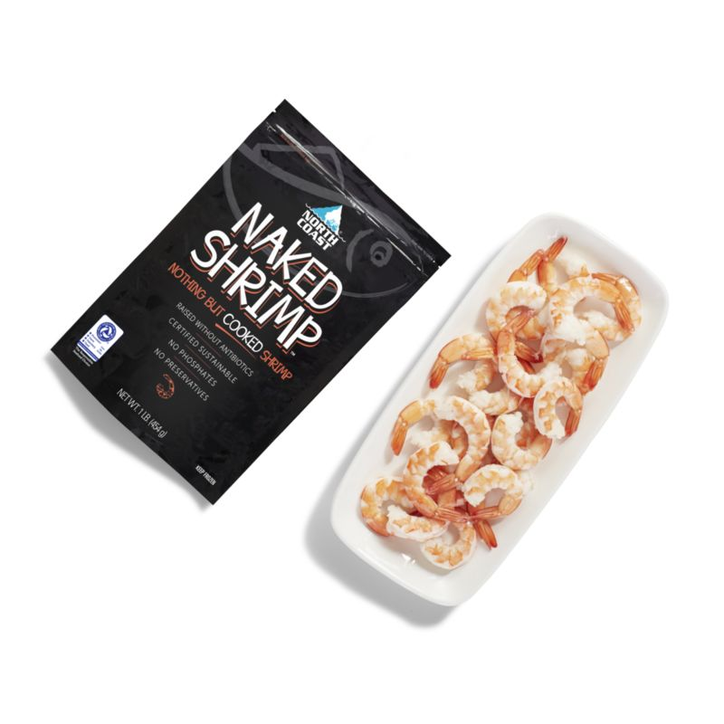 Portioned Flash-Frozen Seafood