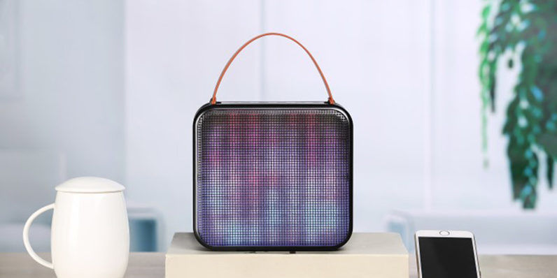 Light-Flashing Portable Speakers