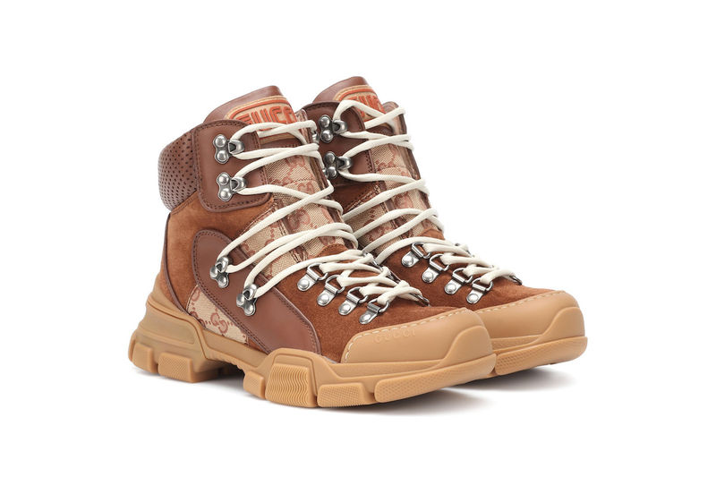 Luxe Hiking Boot-Inspired Footwear